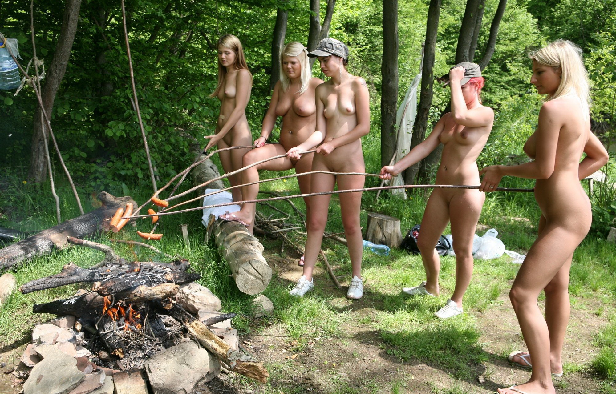 Mädchen nackt fkk