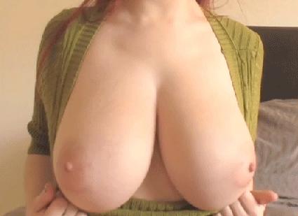 Große brüste nackt gif